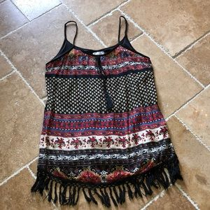 Band of Gypsies tank multi color top